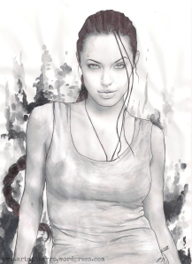 ANGELINA JOLIE (Lara Croft: Tom Raider)