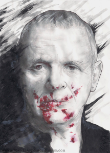 ANTHONY HOPKINS (The Silence of the Lambs)