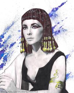 ELIZABETH TAYLOR (Cleopatra)