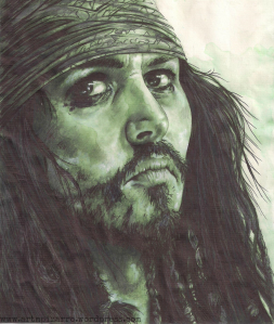 JOHNNY DEPP (Piratas del Caribe)